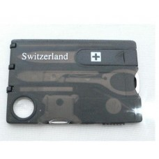 Swizerland 12 в 1 Кредитка мультитул