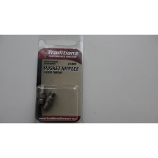 Набор усиленных ниппелей Lightning Fire System Musket Nipple 1/4x28 Threads (2 Pack)