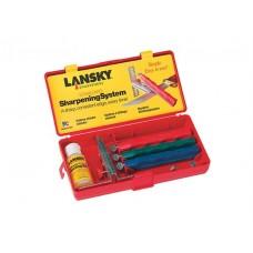 Набор для заточки ножей Lansky Standard Knife Sharpening System with Coarse, Medium and Fine Hones